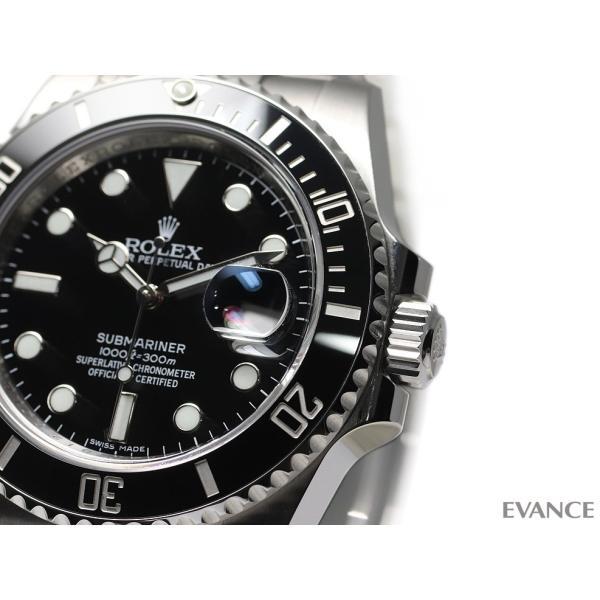 ロレックス サブマリーナデイト 116610LN ブラック ランダム番 メンズ ROLEX (中古)|evance-web|04
