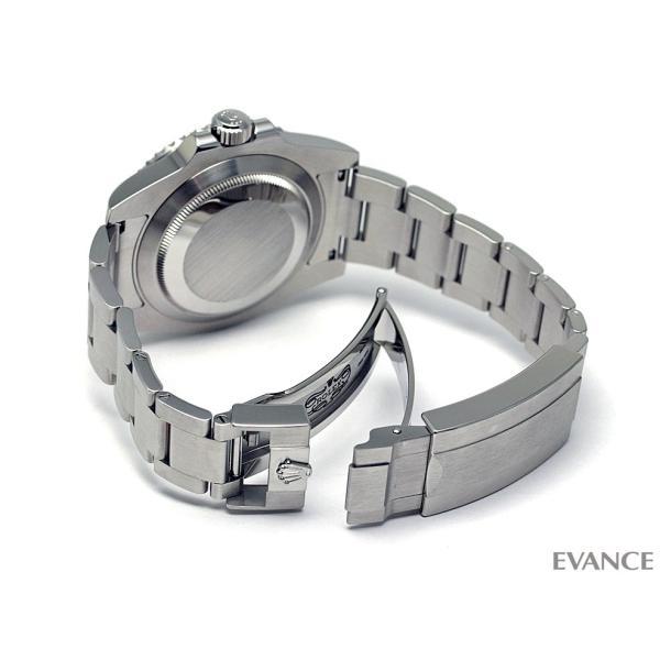 ロレックス サブマリーナデイト 116610LN ブラック ランダム番 メンズ ROLEX (中古)|evance-web|08