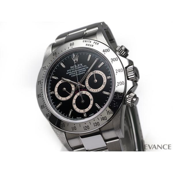 ロレックス デイトナ 16520 ブラック A9番台 メンズ ROLEX (中古)|evance-web|03