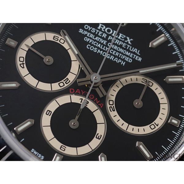 ロレックス デイトナ 16520 ブラック A9番台 メンズ ROLEX (中古)|evance-web|04