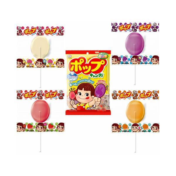不二家ポップキャンディー 21本×6袋入【POPCANDY ぽっぷきゃんでぃ 棒付キャンディー 駄菓子】