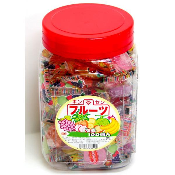 フルーツキャンディー100個入り【駄菓子】