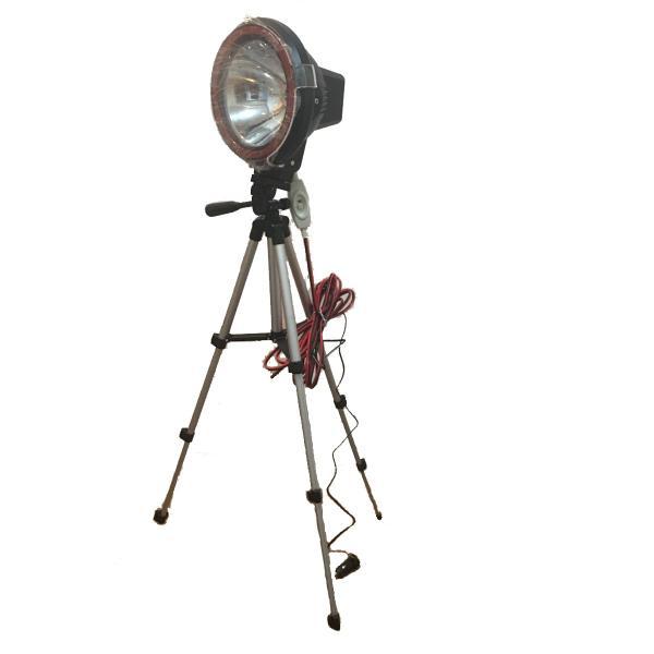  HID 7インチ 55w ライトトラップ 12vシガーソケット 三脚付き 6mコード スイッチ付き…