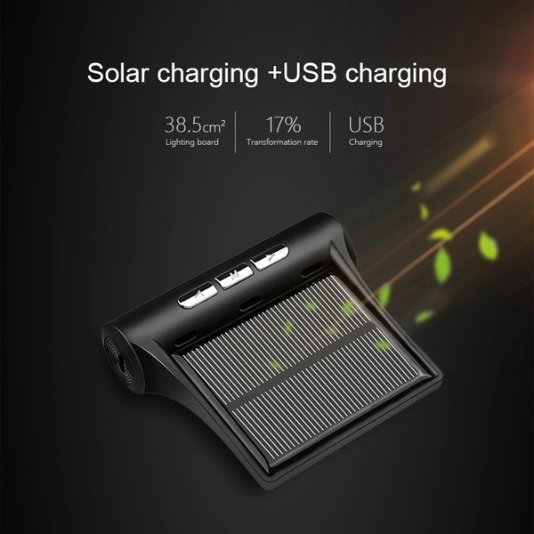 JANSITE タイヤ空気圧モニター 外部センサー TPMS 四輪監視 ソーラー式 USB給電 簡単取付け 太陽光発電 エアープレッシャーチェック|event-wristband|04