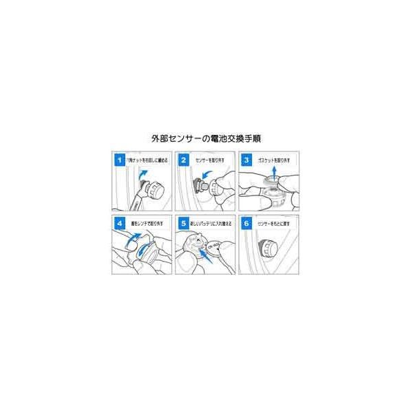 JANSITE タイヤ空気圧モニター 外部センサー TPMS 四輪監視 ソーラー式 USB給電 簡単取付け 太陽光発電 エアープレッシャーチェック|event-wristband|08
