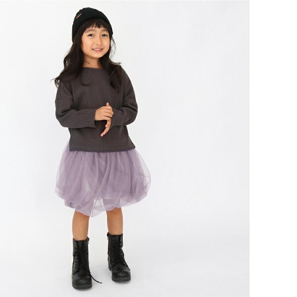 レギンス付きスカート 子供服 レギンス チュチュスカート カラバリ レース 子ども服 女の子 キッズ用 80 90 100 110 120 130|evercloset|12