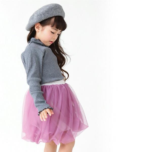 レギンス付きスカート 子供服 レギンス チュチュスカート カラバリ レース 子ども服 女の子 キッズ用 80 90 100 110 120 130|evercloset|17