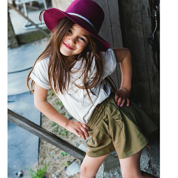 ショートパンツ キュロット スカート 女児 女の子 キッズ ベビー 子供 子供服 フリル 80  90 100 110 120 プチプラ evercloset 07