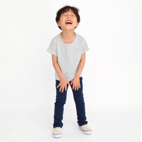 \SALE/半袖Tシャツ 子供服 無地 Tシャツ カットソー ポケット 子ども服 春 夏 女の子 男の子 キッズ 抗菌 防臭 花粉脱落 帯電防止|evercloset|05
