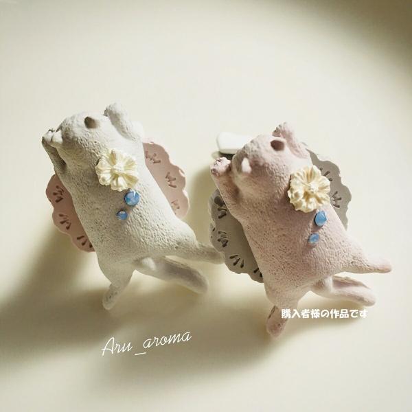犬 猫 動物 シリコンモールド レジン アロマストーン 手作り 石鹸 キャンドル 樹脂 粘土 オルゴナイト 型 抜き型|evergarden|07