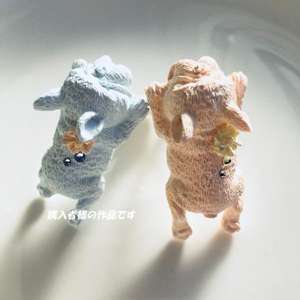 犬 猫 動物 シリコンモールド レジン アロマストーン 手作り 石鹸 キャンドル 樹脂 粘土 オルゴナイト 型 抜き型|evergarden|08