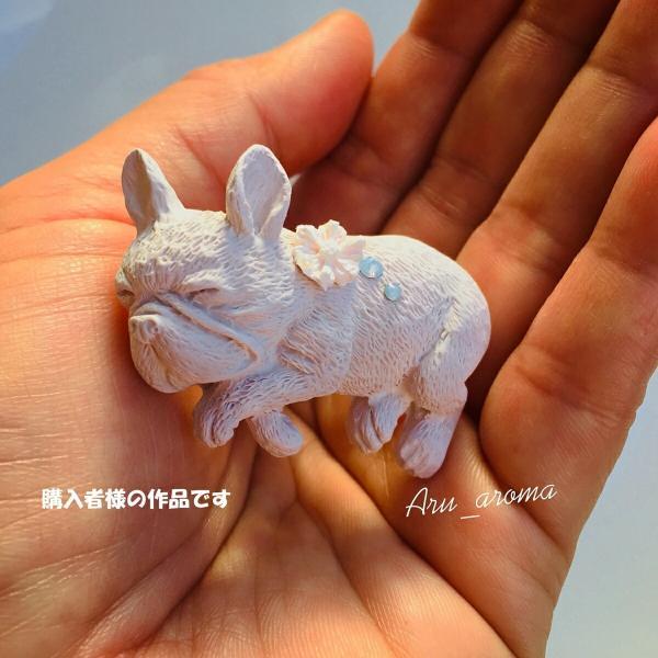 犬 猫 動物 シリコンモールド レジン アロマストーン 手作り 石鹸 キャンドル 樹脂 粘土 オルゴナイト 型 抜き型|evergarden|09