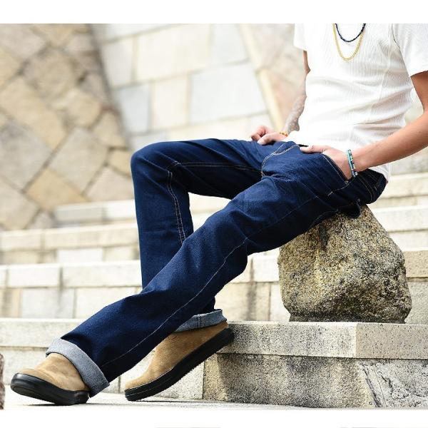 チノパン メンズ スキニー シューカット ブーツカット スリム ストレッチ ミリタリーファッション ワークパンツ|evergreen92|11