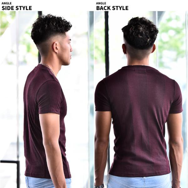 ロングTシャツ メンズ おしゃれ 無地 Vネック 半袖 七分袖 長袖 ロンT 白 黒 30代 40代 50代 2枚目半額|evergreen92|17