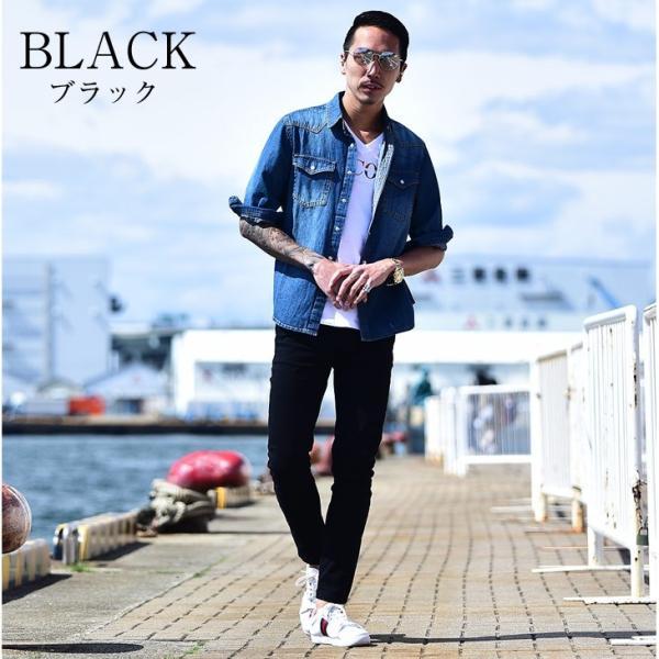 スキニー メンズ スキニーパンツ ストレッチ 大きいサイズ 新着 チノ 黒 ブラック ビジネス タイト 細め 白 ホワイト パンツ ホワイト夏|evergreen92|10