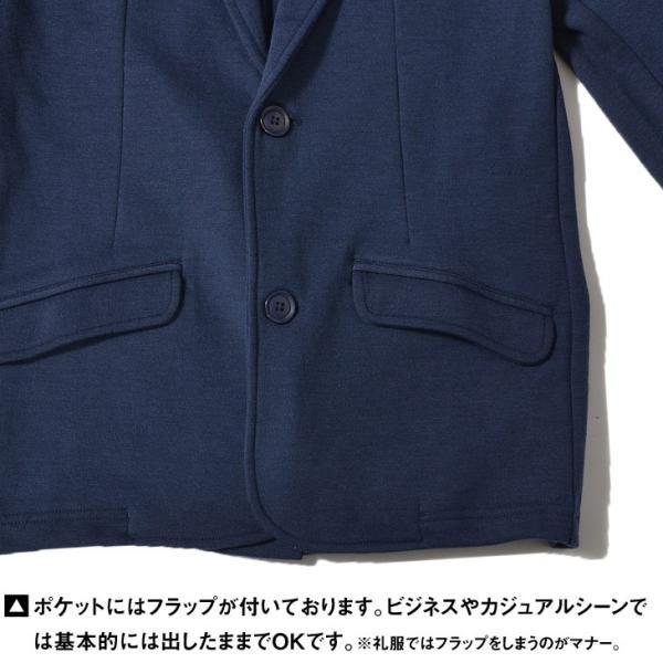 ジャケット メンズ テーラードジャケット スウェット テーラードジャケット アウター 柄 チェック 大きいサイズ スーツ|evergreen92|14