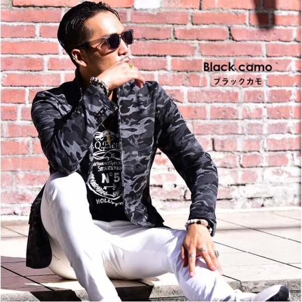 ジャケット メンズ テーラードジャケット スウェット テーラードジャケット アウター 柄 チェック 大きいサイズ スーツ|evergreen92|05