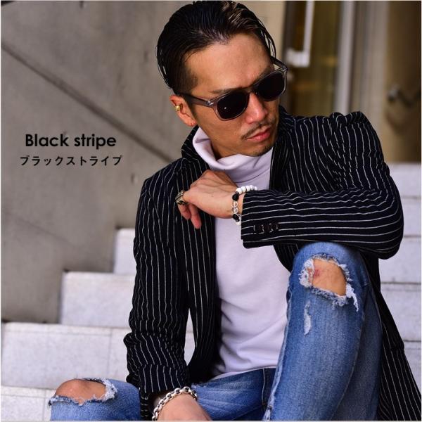ジャケット メンズ テーラードジャケット スウェット テーラードジャケット アウター 柄 チェック 大きいサイズ スーツ|evergreen92|10