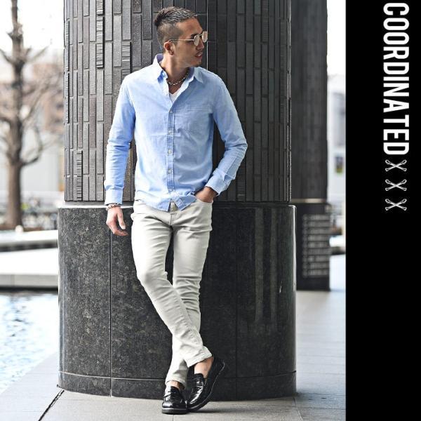 シャツ メンズ 長袖シャツ 長袖 メンズシャツ ワイシャツ Yシャツ コットンシャツ ストレッチ物服 メンズファッション|evergreen92|16