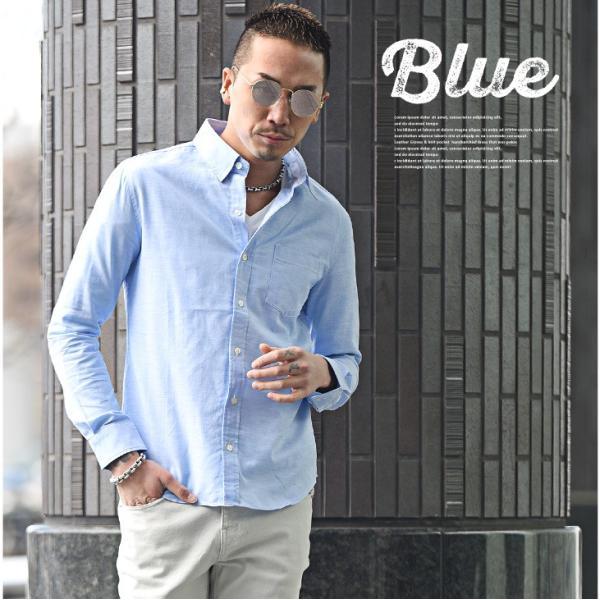 シャツ メンズ 長袖シャツ 長袖 メンズシャツ ワイシャツ Yシャツ コットンシャツ ストレッチ物服 メンズファッション|evergreen92|03