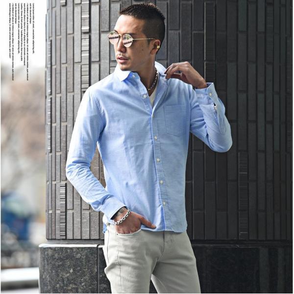 シャツ メンズ 長袖シャツ 長袖 メンズシャツ ワイシャツ Yシャツ コットンシャツ ストレッチ物服 メンズファッション|evergreen92|04
