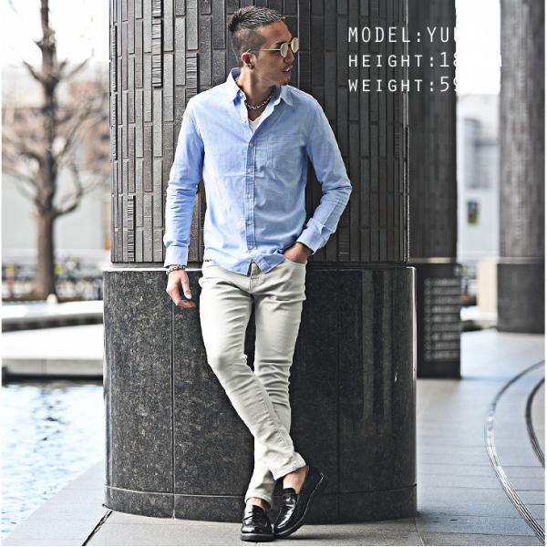 シャツ メンズ 長袖シャツ 長袖 メンズシャツ ワイシャツ Yシャツ コットンシャツ ストレッチ物服 メンズファッション|evergreen92|05