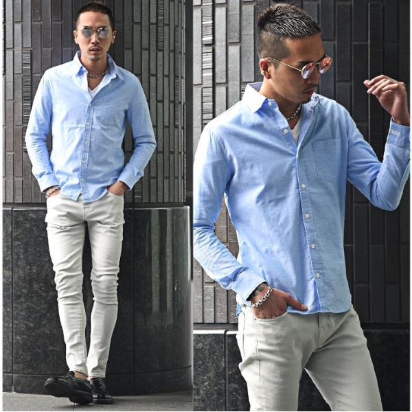 シャツ メンズ 長袖シャツ 長袖 メンズシャツ ワイシャツ Yシャツ コットンシャツ ストレッチ物服 メンズファッション|evergreen92|06