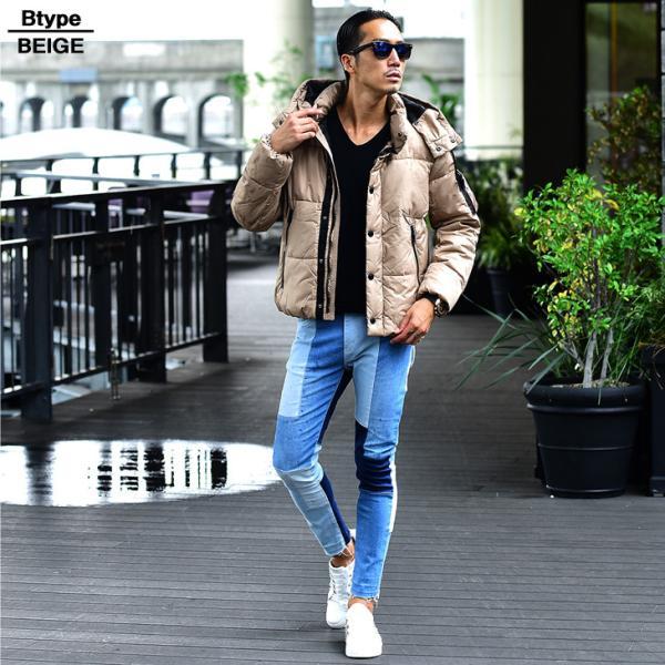 ジャケット 中綿ジャケット メンズ ジャケット ブルゾン コート アウター S LL XL 防寒 秋 冬 送料無料|evergreen92|14