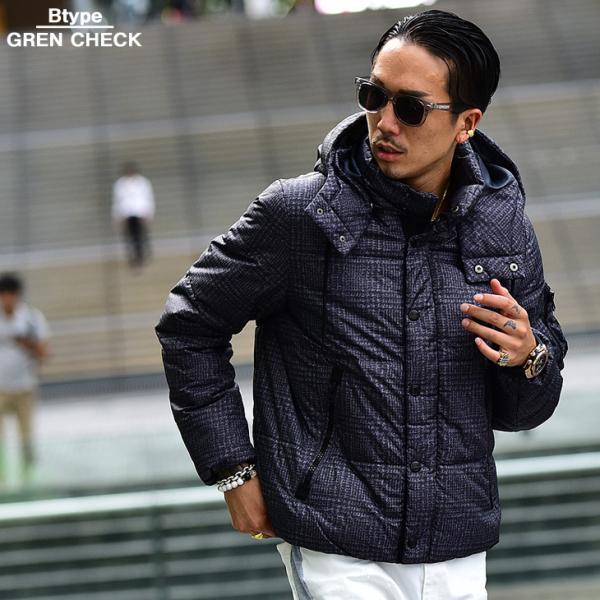 ジャケット 中綿ジャケット メンズ ジャケット ブルゾン コート アウター S LL XL 防寒 秋 冬 送料無料|evergreen92|15