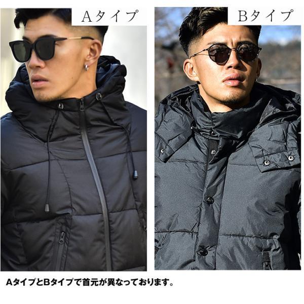 ジャケット 中綿ジャケット メンズ ジャケット ブルゾン コート アウター S LL XL 防寒 秋 冬 送料無料|evergreen92|18