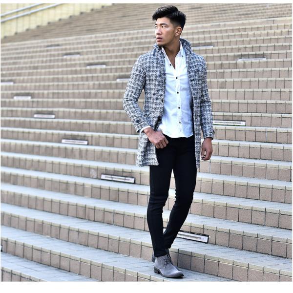 メンズ ブーツ メンズブーツ チャッカブーツ ショートブーツ シューズ 靴 ブラウン ブラック 茶色 黒 オラオラ系 BITTER bitter系|evergreen92|06