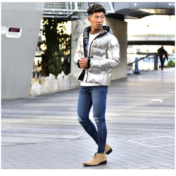 メンズ ブーツ メンズブーツ チャッカブーツ ショートブーツ シューズ 靴 ブラウン ブラック 茶色 黒 オラオラ系 BITTER bitter系|evergreen92|08