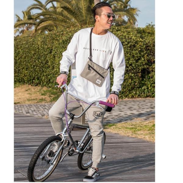 ショルダーバッグ メンズ サコッシュ ナイロン バッグ オシャレ アウトドア メッセンジャーバッグ 自転車 ブラック オレンジ ネオン|evergreen92|03