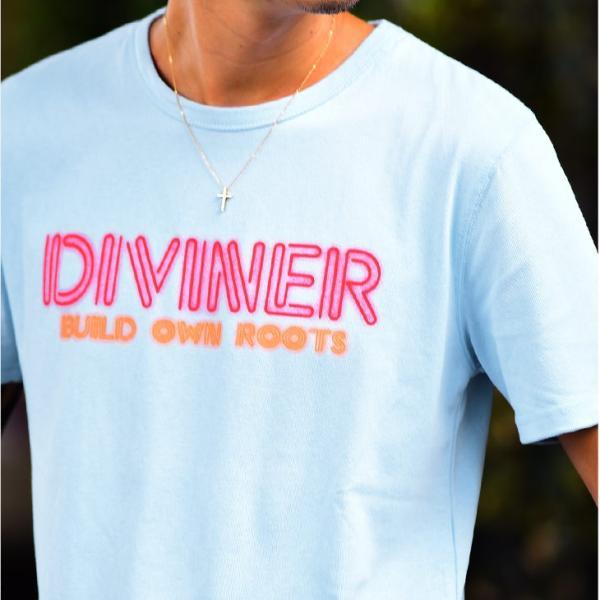 Tシャツ メンズ 半袖Tシャツ カジュアル 半袖 メンズファッション ブルー ピンク ホワイト 白 お兄系 オラオラ系 BITTER|evergreen92|07