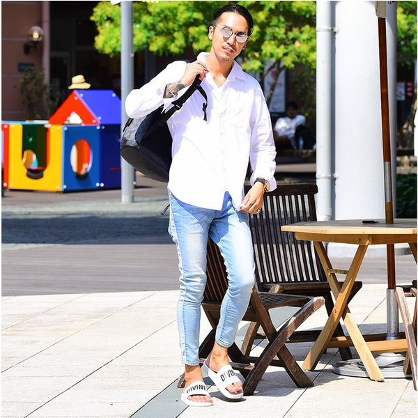 シャツ メンズ 長袖シャツシャツ カラーシャツ 長袖 綿麻 コットンシャツ 無地 Yシャツ ワイシャツ XL メンズファッション|evergreen92|06