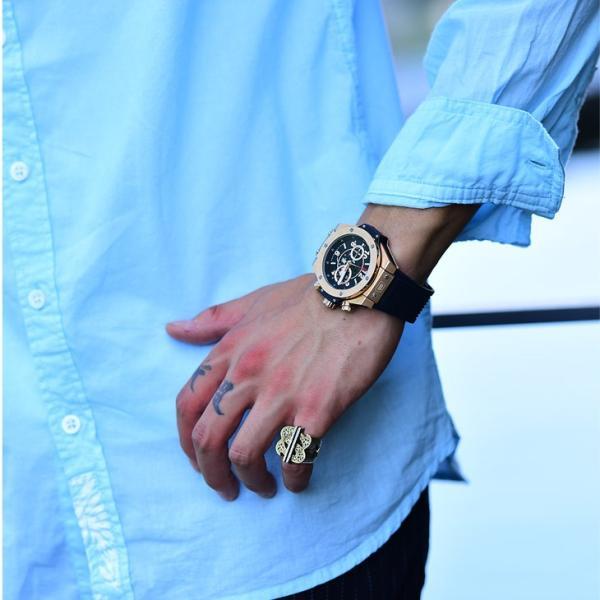 シャツ メンズ 長袖シャツシャツ カラーシャツ 長袖 綿麻 コットンシャツ 無地 Yシャツ ワイシャツ XL メンズファッション|evergreen92|10