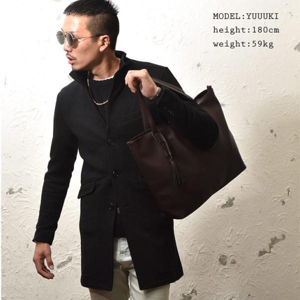 コート メンズ ジャケット テーラードジャケット スーツ イタリアンカラー コート 細身 タイト 無地 襟 グレー ブラック|evergreen92|10