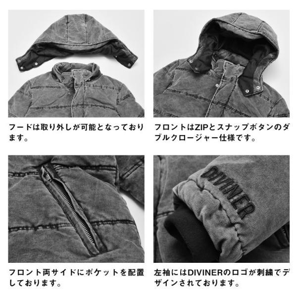 ジャケット メンズ 中綿ジャケット ダウンジャケット 中綿ブルゾン ブルゾン アウター コーデュロイ フード|evergreen92|16