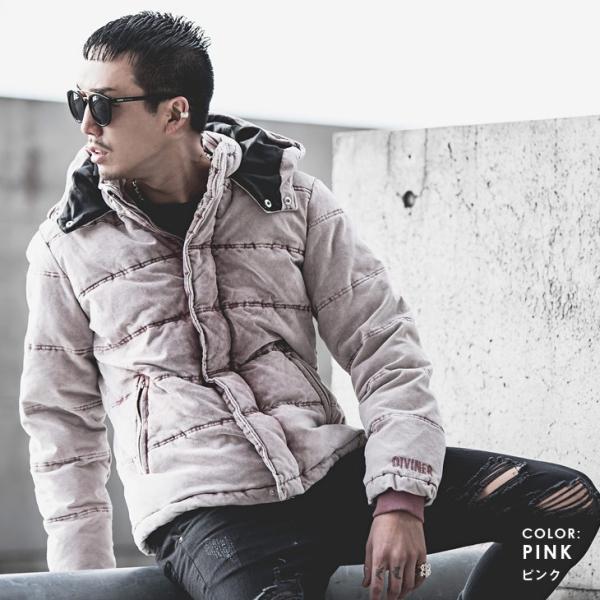 ジャケット メンズ 中綿ジャケット ダウンジャケット 中綿ブルゾン ブルゾン アウター コーデュロイ フード|evergreen92|05