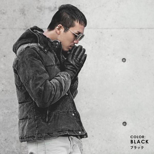 ジャケット メンズ 中綿ジャケット ダウンジャケット 中綿ブルゾン ブルゾン アウター コーデュロイ フード|evergreen92|09