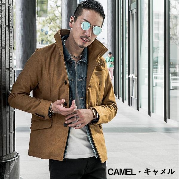 ジャケット メンズ テーラードジャケット スーツ イタリアンカラー ジャケット アウター 細身 タイト 無地 襟 グレンチェック|evergreen92|11
