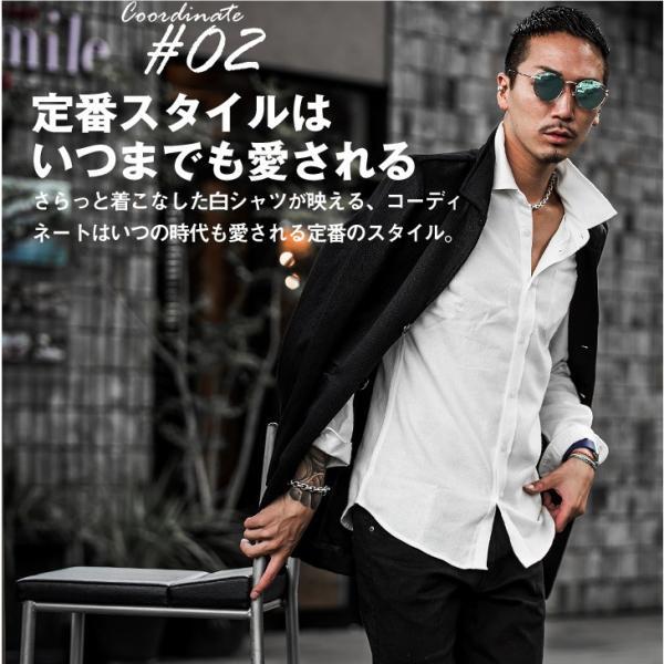 ネルシャツ メンズ チェックシャツ 長袖シャツ 無地シャツ チェック レギュラーカラー ホワイト レッド ブロック 長袖シャツ|evergreen92|05