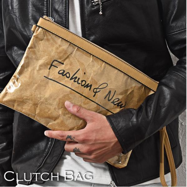 クラッチバッグ メンズ 鞄 カバン クラッチ PVC クリアクラッチバッグ クリア素材 クリアバック クラッチバック 肩掛け evergreen92 02