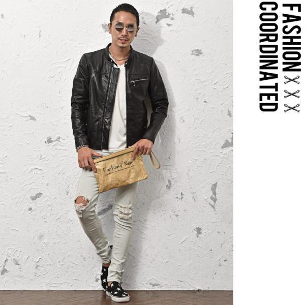 クラッチバッグ メンズ 鞄 カバン クラッチ PVC クリアクラッチバッグ クリア素材 クリアバック クラッチバック 肩掛け evergreen92 09