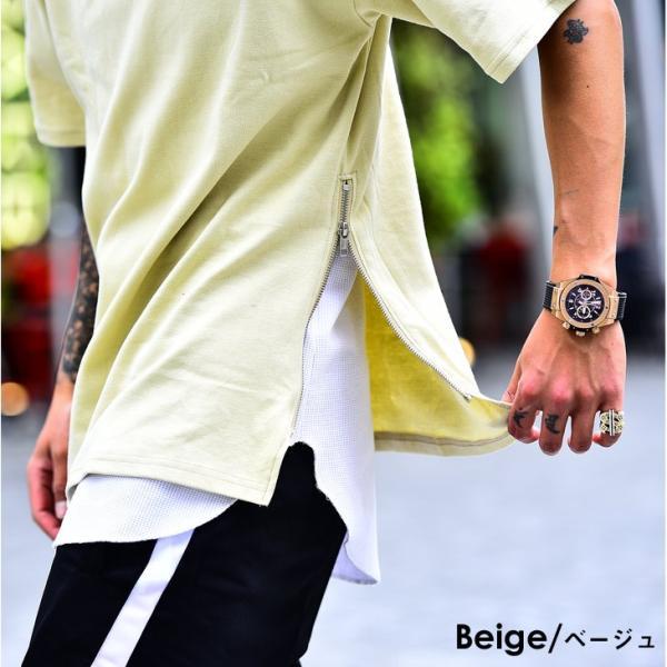 メンズ ビックシルエット tシャツ ビックシルエットシャツ 半袖 ビッグTシャツ カットソー 大きいサイズ 夏 夏服 夏物|evergreen92|11