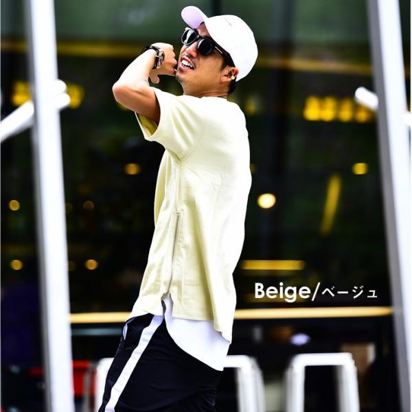 メンズ ビックシルエット tシャツ ビックシルエットシャツ 半袖 ビッグTシャツ カットソー 大きいサイズ 夏 夏服 夏物|evergreen92|12