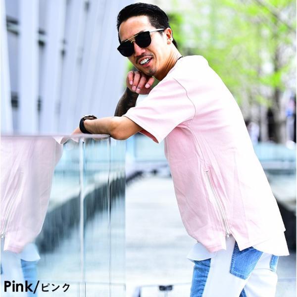 メンズ ビックシルエット tシャツ ビックシルエットシャツ 半袖 ビッグTシャツ カットソー 大きいサイズ 夏 夏服 夏物|evergreen92|15