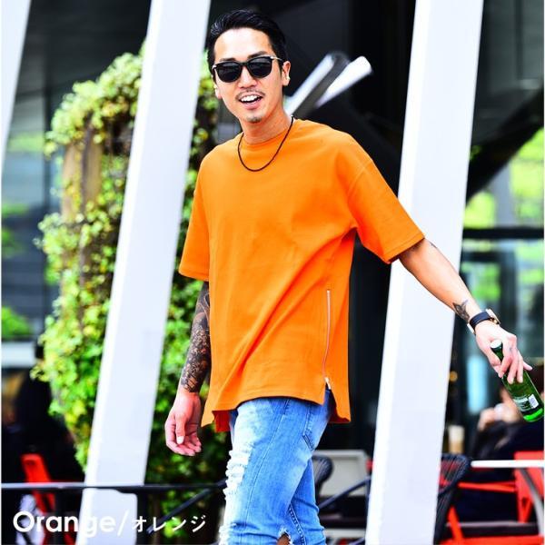 メンズ ビックシルエット tシャツ ビックシルエットシャツ 半袖 ビッグTシャツ カットソー 大きいサイズ 夏 夏服 夏物|evergreen92|17