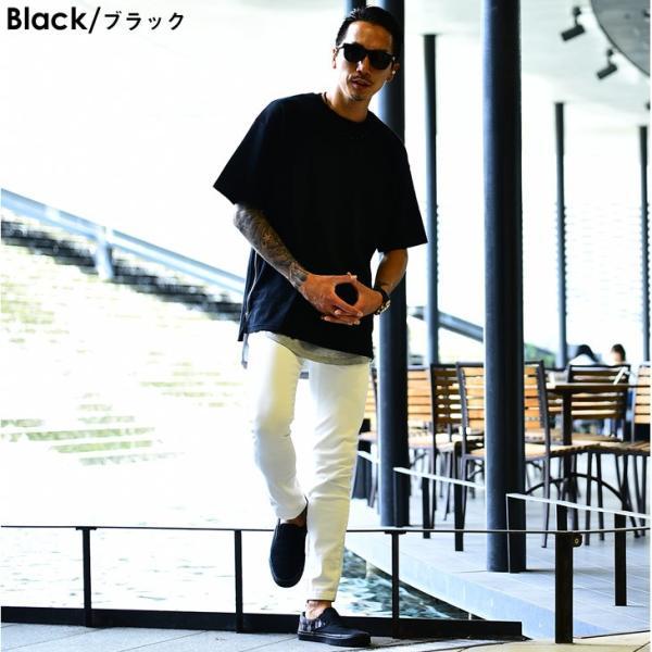 メンズ ビックシルエット tシャツ ビックシルエットシャツ 半袖 ビッグTシャツ カットソー 大きいサイズ 夏 夏服 夏物|evergreen92|20