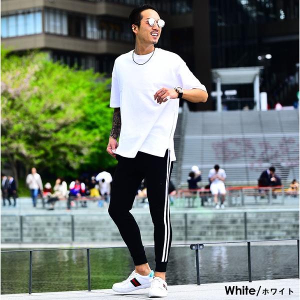 メンズ ビックシルエット tシャツ ビックシルエットシャツ 半袖 ビッグTシャツ カットソー 大きいサイズ 夏 夏服 夏物|evergreen92|06